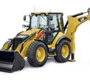 Traktor-Ekskovator