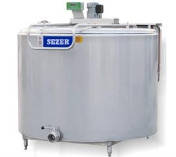 Dikey Tip Süt Soğutma Tankı